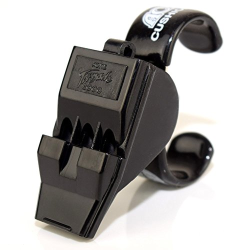 Acme Tornado Pealess Finger Grip Referee Whistle-Hockey-Soccer, FingerGrip T2000