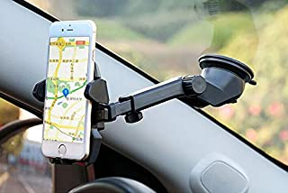 Imak Easy One Touch 2 Car Mount Holder For Iphone 6/Iphone 6S /Plus Samsung Galaxy, Google Nexus Lg G3, Black