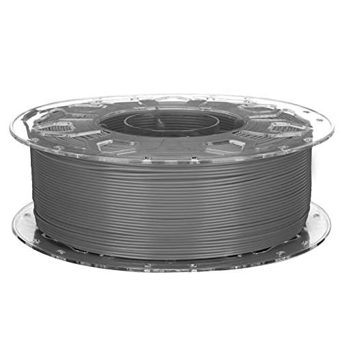 3D Printer PLA Filament, Low Shrinkage High Toughness 1.75mm Printing Supplies Accessories Compatible with All 3D Printers(Grey)