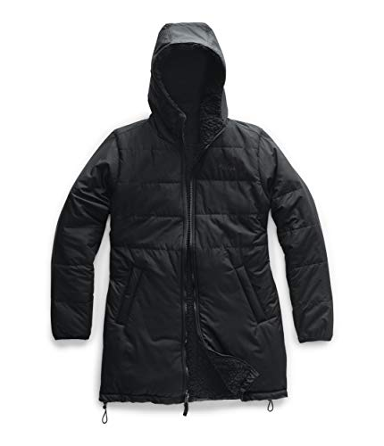 The North Face Women's Merriewood Reversible Parka, TNF Black, M