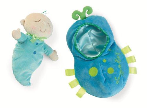 Première poupée avec sac de couchage confortable pour les enfants de 6 mois et plus, Manhattan Toy Snuggle Pod Snuggle Bug
