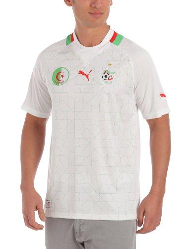 PUMA Herren Trikot Africa Home Replica Algerien, White-Flash-Algeria, XXL, 740193 01