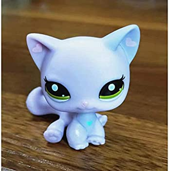 Greneric Hart Ear Short Haired Cat LPS Toy Littlest Pet Shop Rare LPS Toy Sparkle Action Figures Kids Toy Gift