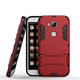 Huawei G7 Plus coque, MHHQ 2 en 1 Armour style robuste hybrides double couche Armure Defender TPU +...