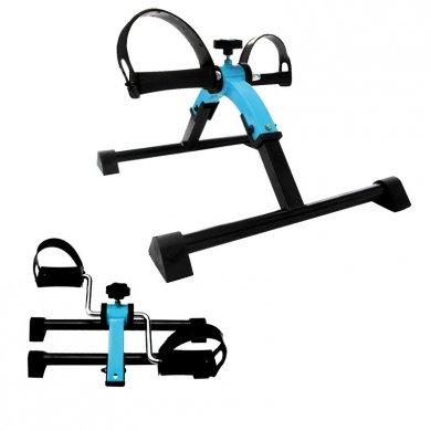 Pedaliera cyclette in acciaio per riabilitazione gambe pedaliera pieghevole