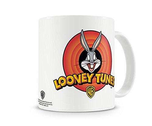 Looney Tunes Offizielles Lizenzprodukt Logo Kaffeetasse, Kaffeebecher