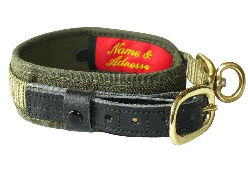 Niggeloh Hundehalsung Deluxe, grün, M, 011100010