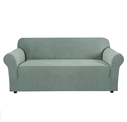 OMILEK Sofa Schonbezug, Stretch-Stoff Sofa Protecto, Elastische Sessel Couch Sofa Bezüge Waschbar [ 3 Sitzer ]
