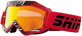 11b9919dbb SHIRO - Gafas Cross Infantiles MX-904 KIDS ROJAS con lente espejo