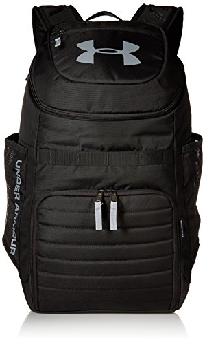 Under Armour Undeniable 3.0 Backpack,Black (001)/Steel, One Size Fits All