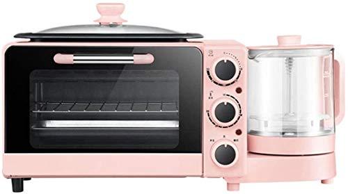 Horno de microondas Microondas Multifunción de 220V 7L Mini horno eléctrico automático para cocinar a domicilio, control de temperatura libre, 1050W