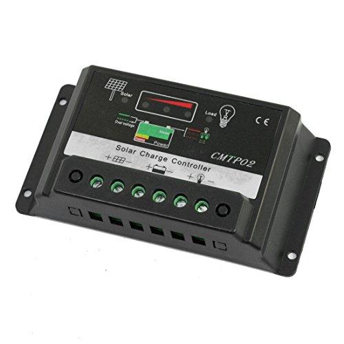 IIVVERR CMTP02-10A 10A 12V 24V Solar Panel Battery Regulator Charge...