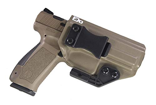 Fierce Defender IWB Kydex Holster Canik TP9SA Paladin Series (Flat Dark Earth)