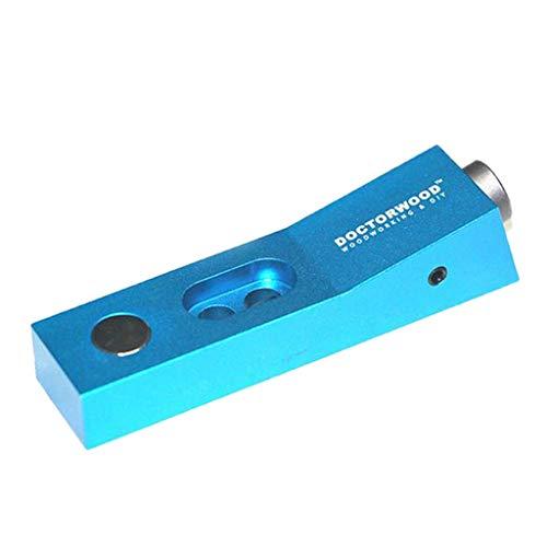 Preisvergleich Produktbild Mini Taschenloch Dübelhilfe Hilfsvorrichtung mit Schrägwinkel für Holzverbindungen und Bohren