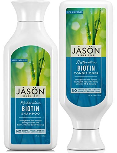Jason Natural Biotin Shampoo & Conditioner