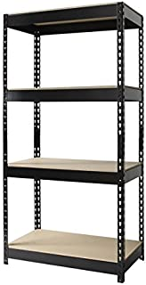 Riveted Steel 4-shelf Shelving Unit Model#17125