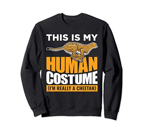 This Is My Human Disfraz de guepardo Sudadera