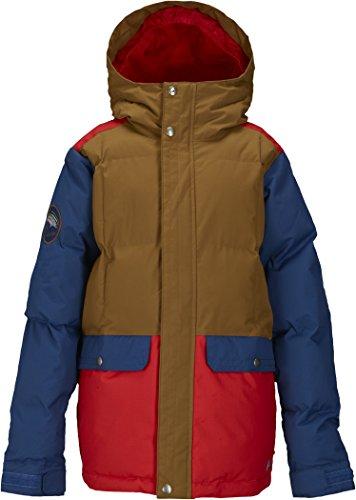 Burton Jungen Snowboardjacke Boys Tundra Pufy Jacket, Beaver Tail Block, L