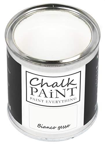 Everything CHALK PAINT Bianco Gesso 250 ml - SENZA CARTEGGIARE Colora Facilmente Tutti i Materiali
