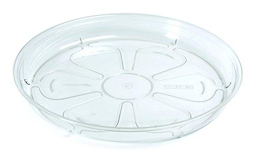 Soucoupe pour pots de fleurs Coubi - 12 cm - Transparent -