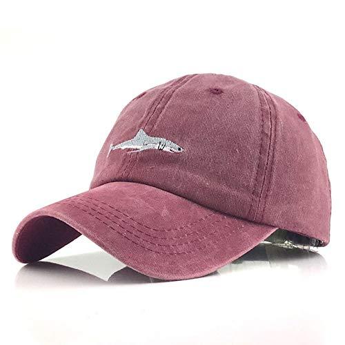 Gorra de béisbol para Hombre Sombrero de papá de Pesca con Cierre Trasero para Mujer Sombrero de Camionero para niños Gorra de Verano para Hombre-a8-Adjustable
