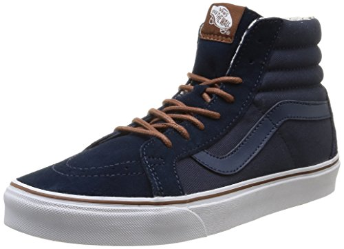 Vans U Sk8-Hi Reissue, Sneakers, Unisex Adulto, Blu (T&S/Dress Blues/Plus), 40