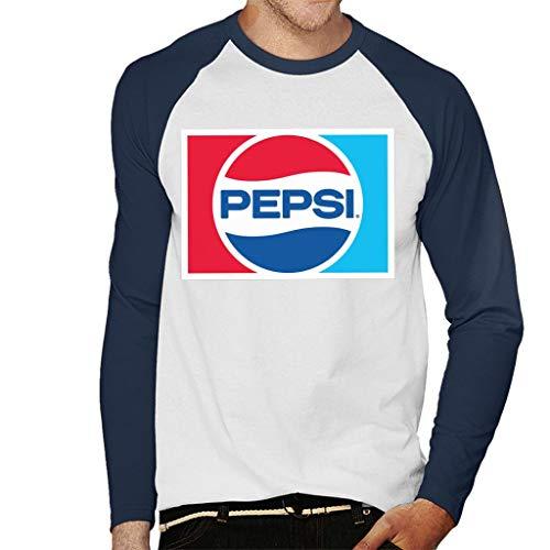 Pepsi 1984 Retro Logo Men's Baseball Long Sleeved T-Shirt