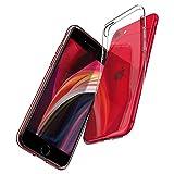 Spigen Liquid Crystal Kompatibel mit iPhone SE 2020 Hülle, iPhone 8/7 Hülle Transparent Silikon...
