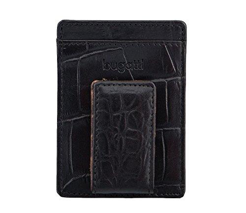 bugatti Kartenkasten mit Clip schwarz 4316