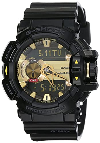 Casio G-Shock Analog-Digital Black Dial Men's Watch-GBA-400-1A9DR (G557)