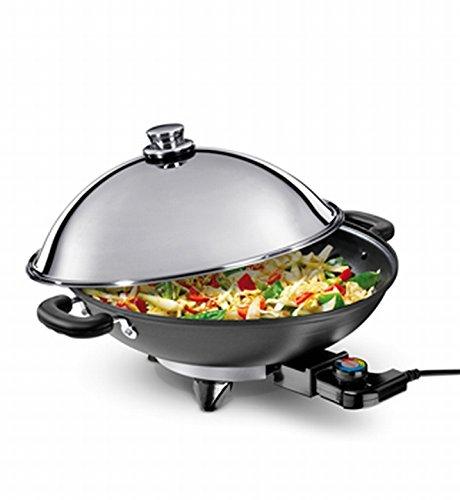 NOVA 190300 - fondues, gourmets & woks (Black, Chrome, 220-250V)