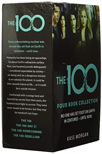 Kass Morgan, The 100 Series Collection 4 Books Box Set - The 100, Day 21, Homecoming, Rebellion