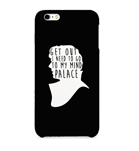 Get out I Need To My Mind Palace Sherlock Holmes - Carcasa de plástico Duro para iPhone Samsung Galaxy Huawei, plástico, Huawei P9 Lite