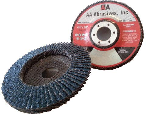 AAAbrasives Flap Disc Free Shipping New 5% OFF 4x5 8#60 Zirc Type Density Flat 27 PB High