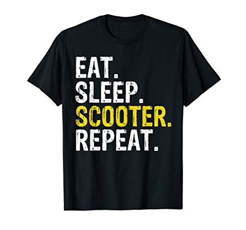 Eat Sleep Scooter Repeat Gift T-Shirt