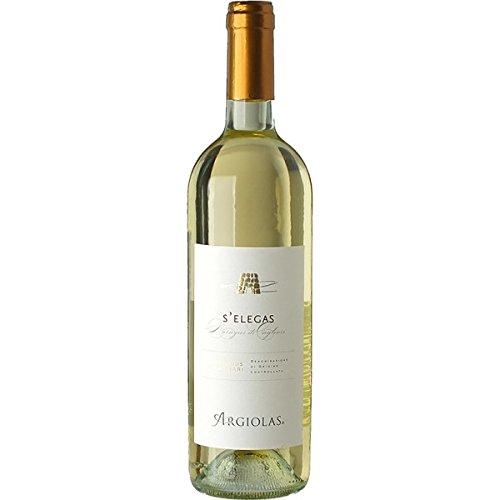 6 x 0.75 - S'elegas è un Vino bianco sardo, Nuragus di Cagliari DOC prodotto dalla storica cantina di Argiolas, a Serdiana
