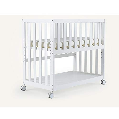 Buy Bargain HLR-Travel Beds Multifunction Crib Travel Cots Solid Wood Height Adjustable Bedside Cot ...