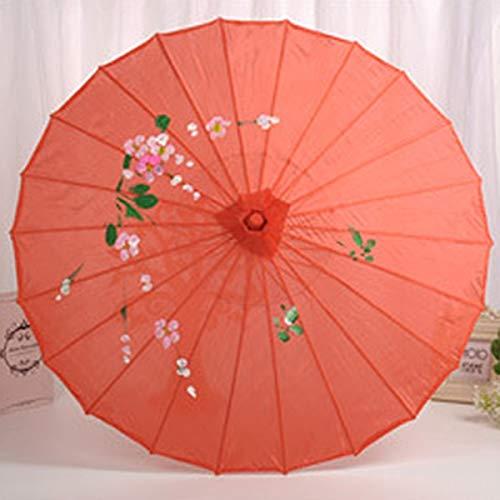 ZGMMM paraplu, Chinese klassieke kunst, handgemaakte decoratieve foto-dans rood