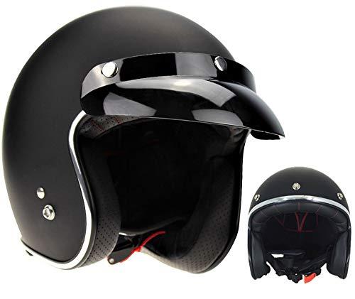 Viper RS-05 Casque de moto ouvert style bobber rétro étroit