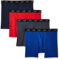 4-Pack New Balance Men's Boxer Brief
