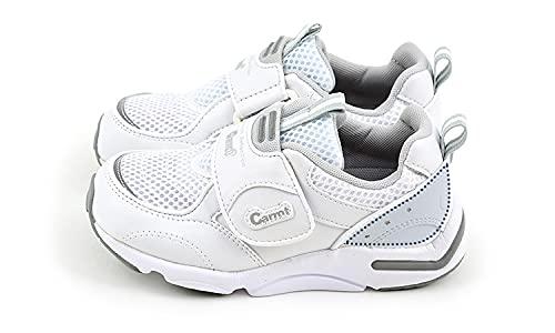 [ハッピークローバー] フォーマルタイプ運動靴 【まっすぐ背を伸ばす】 キャロットスポーツ 16.5cm 白