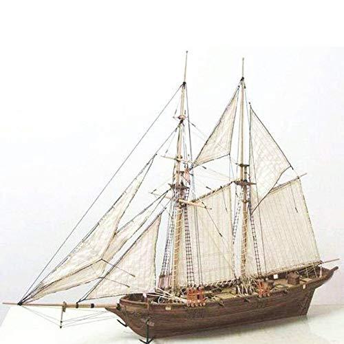YYXLL Modelos De Barcos De Madera, Velero Modelo, Bricolaje Conjunto De Modelos De Barcos Barco Velero Kit Kit Modelo De Madera Kit De Envío Emblemáticos Juguetes Modelo De Madera,Style 1