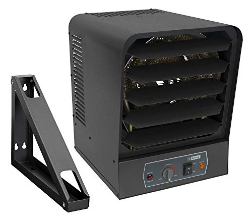KING GH2407TB Electric Garage Heater w/Bracket and Thermostat, 7500W / 240V