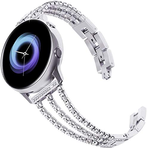 FAAGFC 20 22mm mujeres reloj correa para Samsung Galaxy reloj activo 2 44mm 40mm pulsera para Galaxy Watch 46mm 42mm S3 para Huawei Gt 2e correa