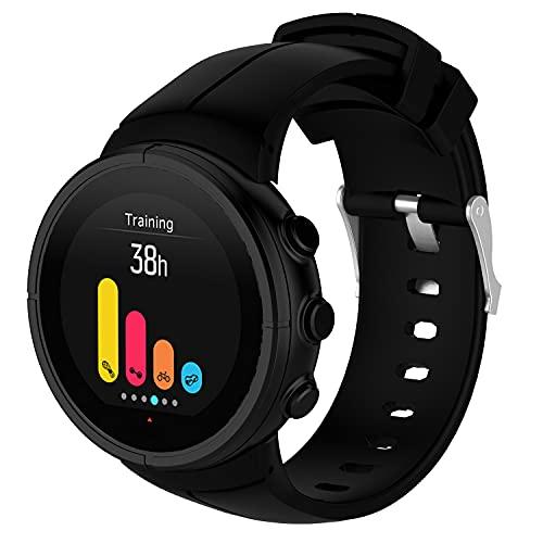 Classicase Repuesto de Correa de Reloj de Silicona Compatible con Suunto Spartan Ultra, Caucho Fácil de Abrochar para Relojes y Smartwatch (Pattern 8)