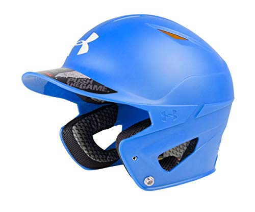Under Armour Baseball Converge Solid Matte Batter's Helmet Royal, Youth