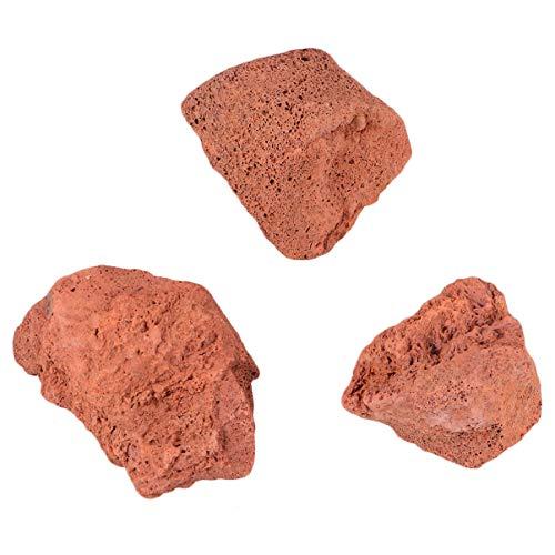 iplusmile Vulkanische Rotsen 450G Natuurlijk Onderwaterornament Filtermateriaal Lavasteensteen Voor Aquariumaquaria Decoratie Filtermedia 1 Zak