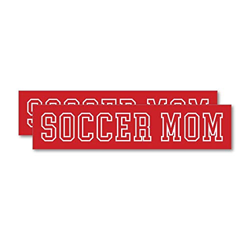 2X Soccer Mom Sticker Decal Funny Drunk Joke Prank Silly
