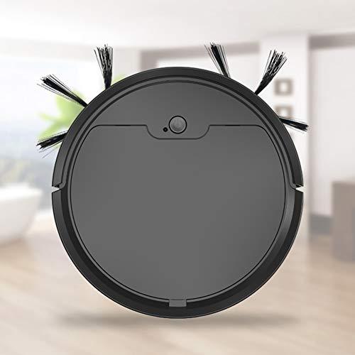 FAPROL Staubsauger Roboter Saugroboter Mit Wischfunktion, Kehren Staubsaugen Und Wischen 3 In 1 Wohnzimmer Roboterstaubsauger Black