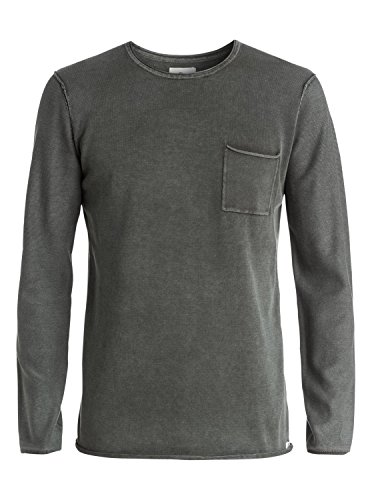 Quiksilver - Pull Astley - Astley - Taille Large - Couleur Gris